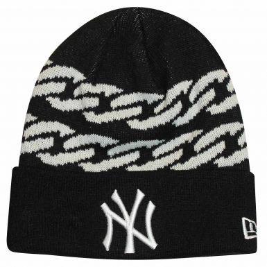 NY New York Yankees (MLB) Bobble Ski Hat by New Era