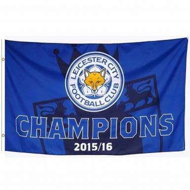 Leicester City 2016 Premier League Champions Flag