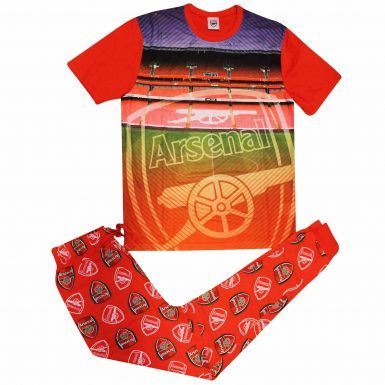 Arsenal FC Crest Adults Pyjamas & Lounge Pants Set