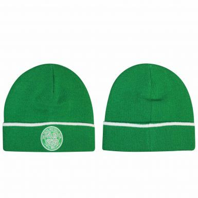 Official Celtic FC Crest Winter Bronx Hat