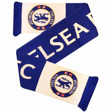 Official Chelsea FC Crest Soccer Scarf