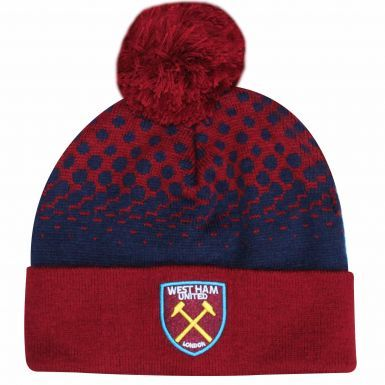 Official West Ham United Crest Ski Hat