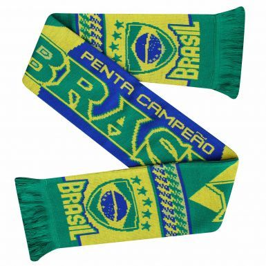 Brazil (Brasil) 2018 World Cup Football Scarf
