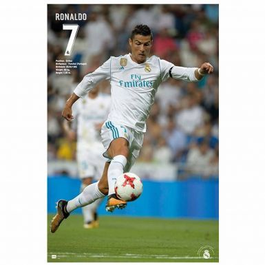 Giant Cristiano Ronaldo & Real Madrid Poster