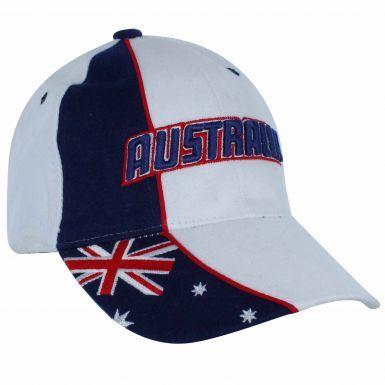 Australia 3D Flag World Cup Baseball Cap