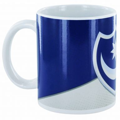 Official Portsmouth FC Crest Ceramic Mug (11oz)