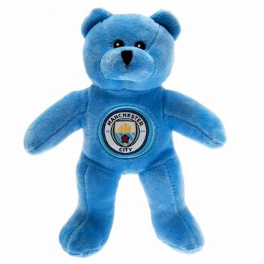 Official Manchester City Mascot Beanie Bear