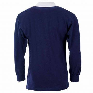 Classic Scotland Retro Long Sleeved Rugby Shirt