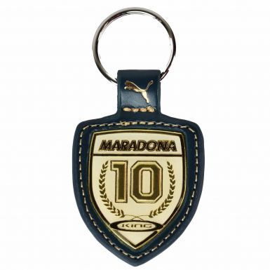 Official Diego Maradona Leather Keyring by Puma
