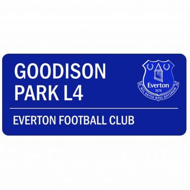 Everton FC Goodison Road Street Sign