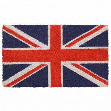 Union Jack Flag Coir Door Mat (Latex Backing 40cm x 70cm)