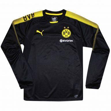 BVB Borussia Dortmund Crest Sweatshirt by Puma