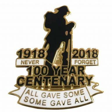 Tommy 1918-2018 WW1 Centenary Remembrance Badge