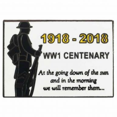 World War One (1918-2018) Centenary Remembrance Badge