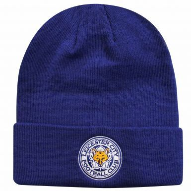 Official Leicester City Crest Bronx Hat (Adults)