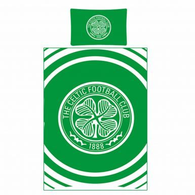 Reversible Celtic FC Single Duvet Cover With Pillowcase Bedroom Set