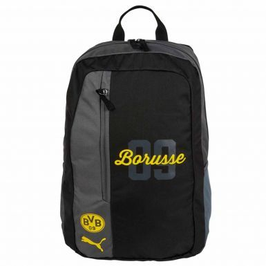 Official BVB Borussia Dortmund Crest Backpack