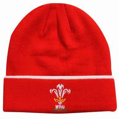 Official Wales WRU Rugby Crest Bronx Hat (Adults)