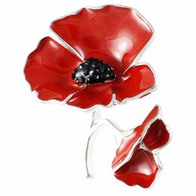 WW1 1918-2018 Centenary Remembrance Poppy Brooch