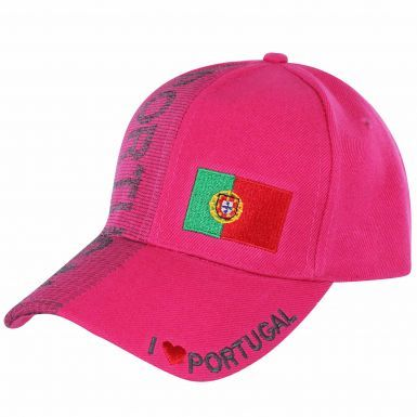 Ladies Portugal Sports Fans Baseball Cap (Adults)