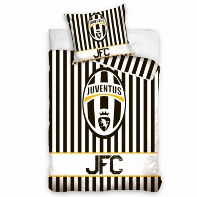 Official FC Juventus (Serie A) Single Duvet Cover With Pillowcase Set