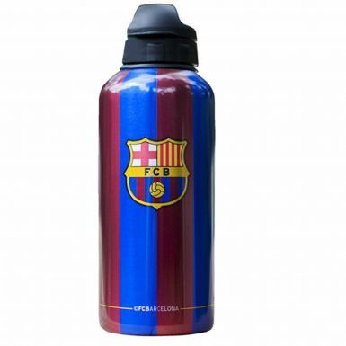 Official FC Barcelona Aluminium Drinks Bottle (400ml)