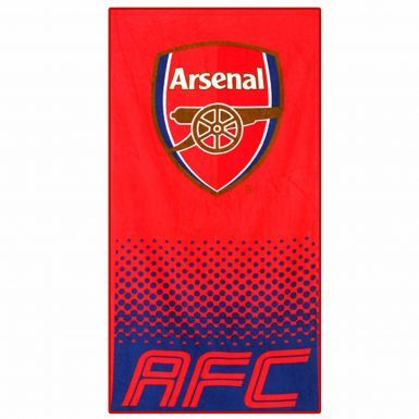 Official Arsenal FC Crest Soccer Bath Towel (100% Cotton)