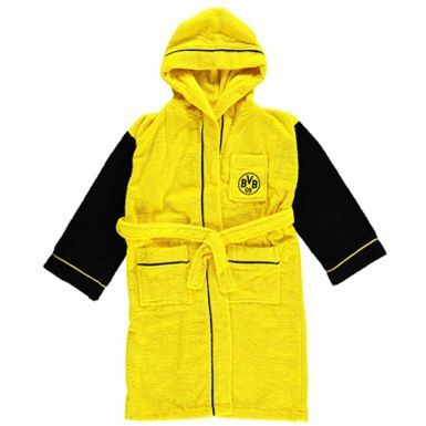 BVB Borussia Dortmund Kids Dressing Gown Lounge Wear