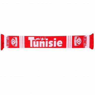 Tunisia (Tunisie) Football Fans Scarf