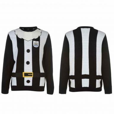 Official Newcastle United 3D Christmas Jumper (Unisex)