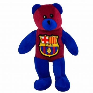 Official FC Barcelona Mascot Souvenir Plush Beanie Bear