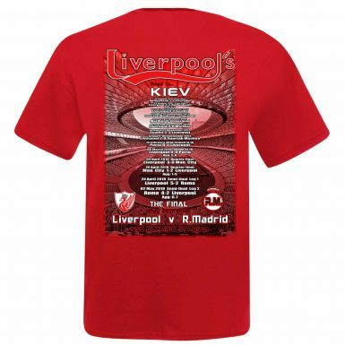 Unisex Liverpool vs Real Madrid 2018 Champions League Final T-Shirt
