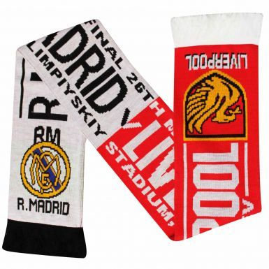Real Madrid vs Liverpool 2018 Champions League Final Fans Scarf
