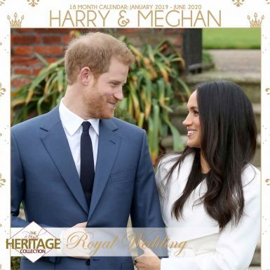 Prince Harry & Meghan Royal Wedding 2019 Calendar With FREE Gifts
