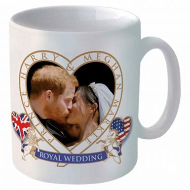 Prince Harry & Meghan Royal Wedding Souvenir Ceramic Mug (11oz)