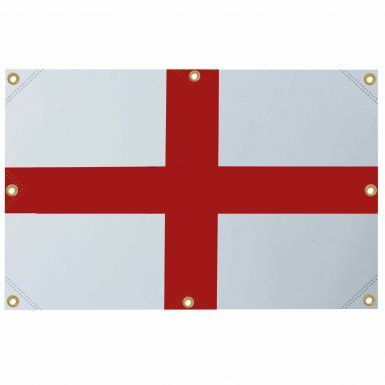Giant England Cross of St George Flag (10ft x 6ft With 8 Brass Eyelets) for Pubs & Houses