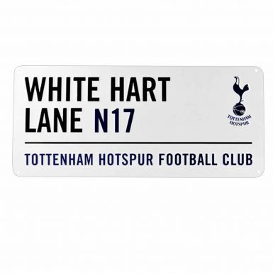 Tottenham Hotspur (Spurs) White Hart Lane Metal Street Sign