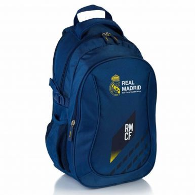 Official Real Madrid Crest Reflective Premium Rucksack
