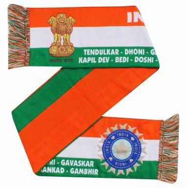Indian Test & One Day Cricket Player Legends Banner Scarf