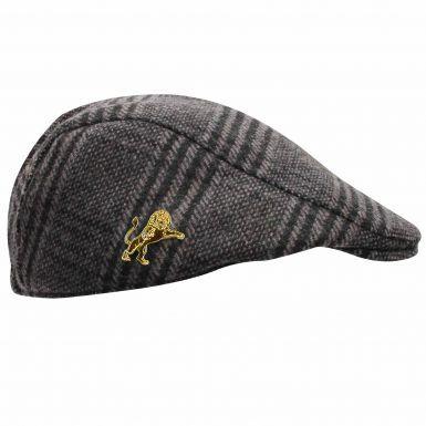 Millwall Lions Traditional Design Woollen Flat Cap (Adults)