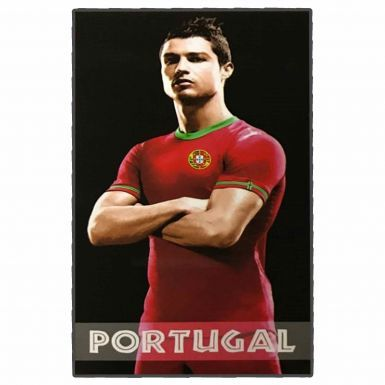 Giant Cristiano Ronaldo & Portugal Soccer Beach Towel (180cm x 100cm)