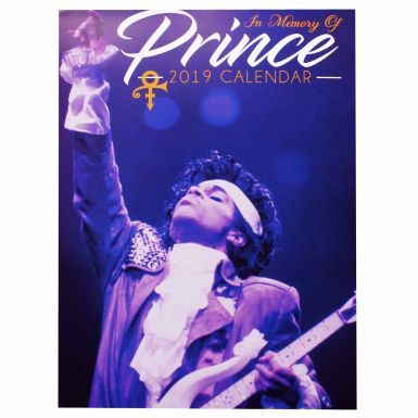Prince Music Icon & Legend 2019 Calendar (Full Colour A3 420mm x 297mm)