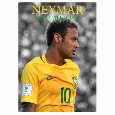 NEYMAR Jnr (Brazil & Paris St Germain) 2019 Football Calendar