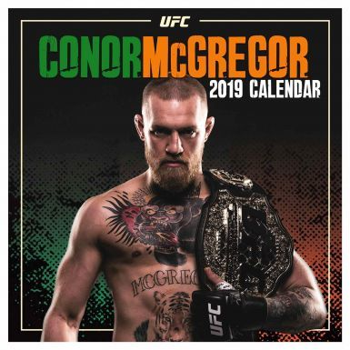 Official Notorious Conor McGregor UFC 2019 Calendar