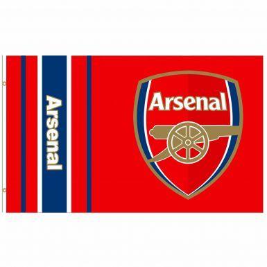 Giant Arsenal FC Football Crest Flag (5ft x 3ft)