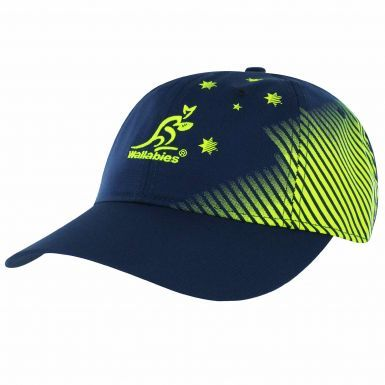 Official Australia Wallabies Rugby Baseball Cap by ASICS (Adults)