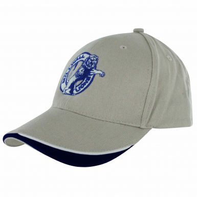 Adults Millwall FC Crest Baseball Cap (100% Cotton)