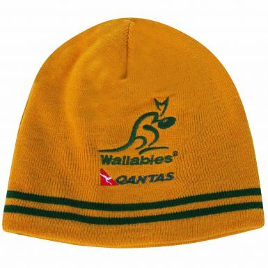 Official Australia Wallabies Rugby Beanie Hat by ASICS