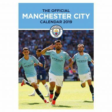 Official Manchester City 2019 Football Calendar (A3)