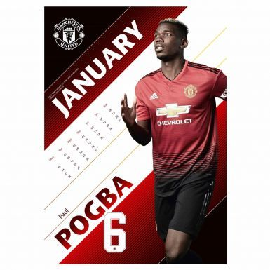 Official Manchester United 2019 Football Calendar (A3)